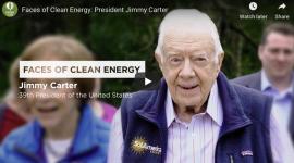 'N Gemeente in Georgia kry die helfte van sy elektrisiteit van die sonplaas van president Jimmy Carter